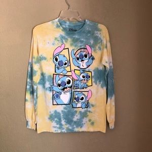 NWOT Disney lilo and stitch long sleeve T-shirt S